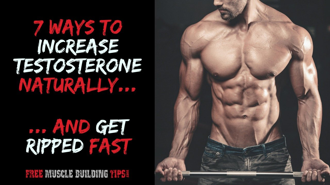 To boost fast how testosterone naturally Testosterone level: