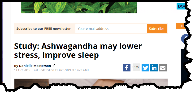 Resurge ashwandha anxiety and sleep